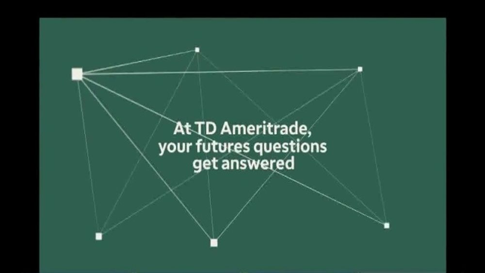 TD Ameritrade TV Commercial, 'Your Futures Questions'