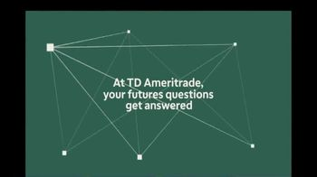 TD Ameritrade TV Spot, \'Your Futures Questions\'