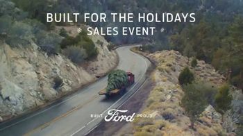 Ford Built for the Holidays Sales Event TV Spot, 'Bring the Gifts and the Tree' [T2]