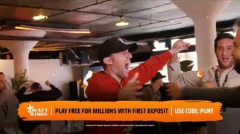 DraftKings Gridiron Sweat TV Spot, 'Biggest Prizes' - Thumbnail 5