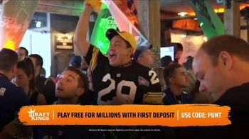 DraftKings Gridiron Sweat TV Spot, 'Biggest Prizes' - Thumbnail 6