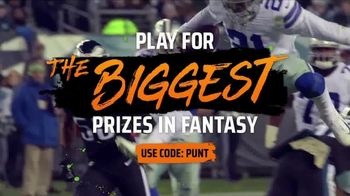 DraftKings Gridiron Sweat TV Spot, 'Biggest Prizes' - Thumbnail 7