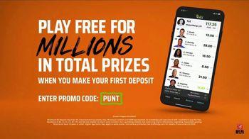 DraftKings Gridiron Sweat TV Spot, 'Biggest Prizes' - Thumbnail 8
