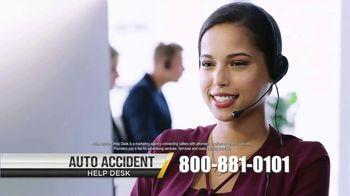 Auto Accident Help Desk TV Spot, 'Driving Kids to School'