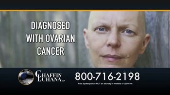 Chaffin Luhana TV Spot, 'Talcum Powder: Ovarian Cancer'