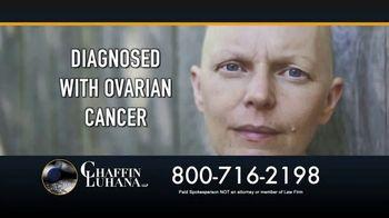 Chaffin Luhana TV Spot, 'Talcum Powder: Ovarian Cancer'