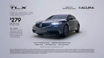 Acura Season of Performance Event TV Spot, 'Fun Stuff: TLX' [T2] - Thumbnail 1