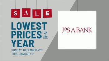 JoS. A. Bank Lowest Prices of the Year Event TV Spot, 'Suits, Sportcoats, Dress Shirts & Sweaters'