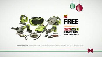 The Home Depot TV Spot, 'Holidays: Ryobi Battery' - Thumbnail 7