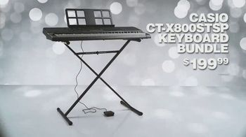 Guitar Center TV Spot, 'Holidays: Casio Keyboard Bundle and Sterling Studio Monitors' Song by Lookas - Thumbnail 5