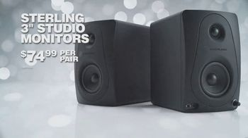 Guitar Center TV Spot, 'Holidays: Casio Keyboard Bundle and Sterling Studio Monitors' Song by Lookas - Thumbnail 8