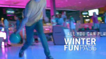 Main Event Entertainment Winter FUNPass TV Spot, 'Todo lo que puedas jugar: $14.99 dólares' [Spanish]