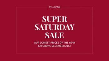 JoS. A. Bank Super Saturday Sale TV Spot, 'Suits and Sportcoats'