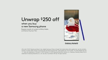 XFINITY Mobile TV Spot, 'Design Your Own Data: Save $400 and Unwrap $250 Off Samsung' - Thumbnail 10