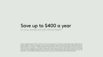 XFINITY Mobile TV Spot, 'Design Your Own Data: Save $400 and Unwrap $250 Off Samsung' - Thumbnail 8