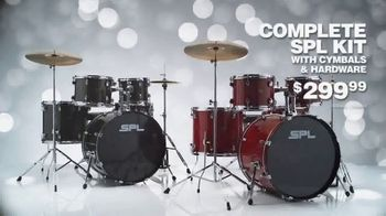 Guitar Center TV Spot, 'Great GIfts: SPL Drum Set and Zildjian Cymbal Set' - Thumbnail 5