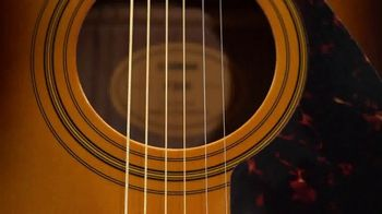 Guitar Center TV Spot, 'Great Gifts: Yamaha Acoustic Guitar and Ernie Ball Strings' Song by Lookas - Thumbnail 2