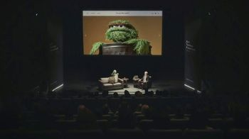 Squarespace TV Spot, 'Make It Real: Q&A with Oscar the Grouch'