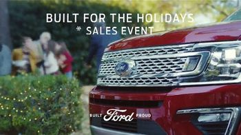 Ford Built for the Holidays Sales Event TV Spot, 'Sleigh' [T2]