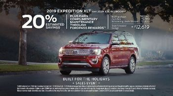 Ford Built for the Holidays Sales Event TV Spot, 'Sleigh' [T2] - Thumbnail 8