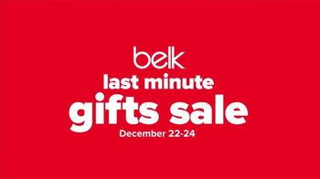 Belk Last Minute Gifts Sale TV Spot, 'Jewelry, Gift Sets and Gift Card' - Thumbnail 3