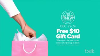 Belk Last Minute Gifts Sale TV Spot, 'Jewelry, Gift Sets and Gift Card' - Thumbnail 7