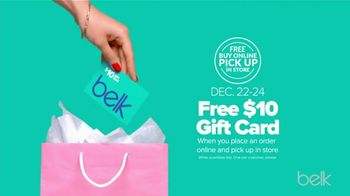 Belk Last Minute Gifts Sale TV Spot, 'Jewelry, Gift Sets and Gift Card' - Thumbnail 8
