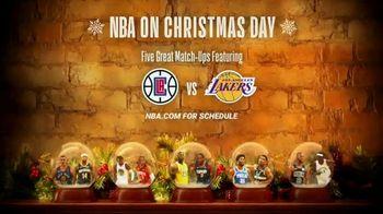NBA TV Spot, 'Ballin' in a Christmas Wonderland' - Thumbnail 9