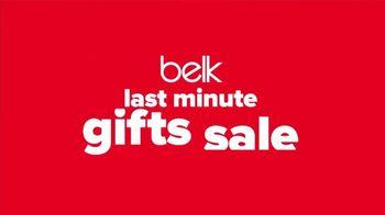 Belk Last Minute Gifts Sale TV Spot, 'Men's Fashion, Silverworks and Gift Card'