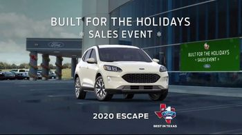 Ford Built for the Holidays Sales Event TV Spot, 'Santa Bobble Head' [T2] - 1 commercial airings