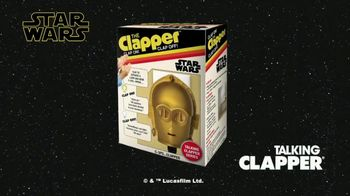 The Clapper TV Spot, 'World Class Clapper: Talking C-3PO' Featuring Kent French - 28 commercial airings