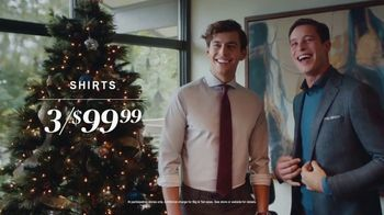 Men's Wearhouse TV Spot, 'Holidays: 3 Shirts for $99.99' - Thumbnail 5