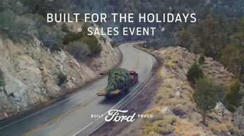 Ford Built for the Holidays Sales Event TV Spot, 'Bring the Gifts and the Tree' [T2] - Thumbnail 7