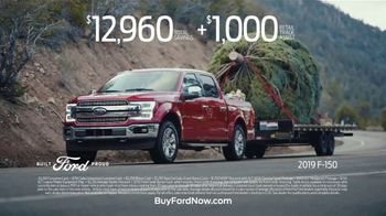 Ford Built for the Holidays Sales Event TV Spot, 'Bring the Gifts and the Tree' [T2] - Thumbnail 8