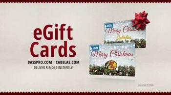 Bass Pro Shops Christmas Sale TV Spot, 'eGift cards'