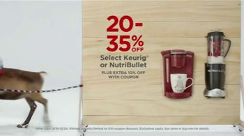 JCPenney Blitz In, Blitz Out Sale TV Spot, 'Nike, Adidas, Keurig, NutriBullet and Jewelry' - Thumbnail 6