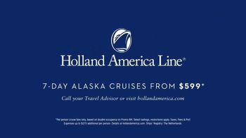 Holland America Line TV Spot, 'Heart of Alaska: $599' - Thumbnail 10