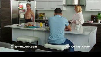Tommy John TV Spot, 'Holidays: 20% Off First Order' - 360 commercial airings