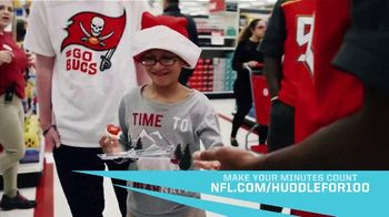 NFL TV Spot, 'Huddle for 100: Make Your Minutes Count' - Thumbnail 5