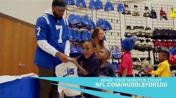 NFL TV Spot, 'Huddle for 100: Make Your Minutes Count' - Thumbnail 6