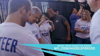 NFL TV Spot, 'Huddle for 100: Make Your Minutes Count' - Thumbnail 7