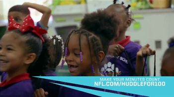 NFL TV Spot, 'Huddle for 100: Make Your Minutes Count' - Thumbnail 8