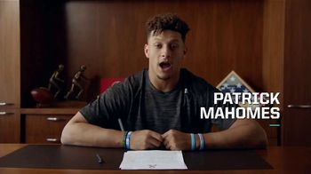 NFL TV Spot, 'Huddle for 100: Make Your Minutes Count' Featuring Josh Jacobs, Patrick Mahomes - 245 commercial airings