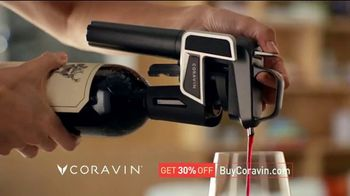 Coravin TV Spot, 'Drink What You Want: 30 Percent'