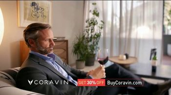 Coravin TV Spot, 'Drink What You Want: 30 Percent' - 152 commercial airings