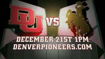 University of Denver Basketball TV Spot, 'Denver vs. Wyoming'