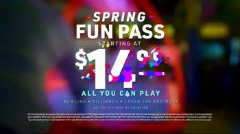 Main Event Spring Fun Pass TV Spot, 'Make Every Moment: $14.99 All You Can Play' - Thumbnail 10