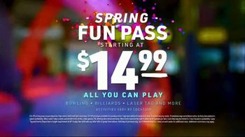 Main Event Spring Fun Pass TV Spot, 'Make Every Moment: $14.99 All You Can Play' - Thumbnail 9
