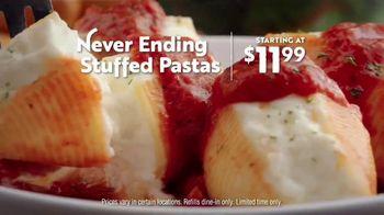 Olive Garden Never Ending Stuffed Pastas TV Spot, 'Never Ending-er' - Thumbnail 10