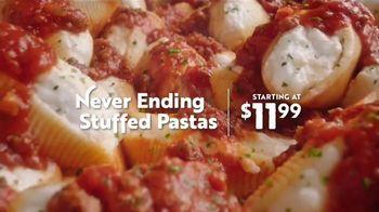 Olive Garden Never Ending Stuffed Pastas TV Spot, 'Never Ending-er' - Thumbnail 5
